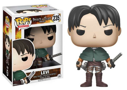 Funko Attack on Titan POP! Animation Levi Vinyl Figure #235