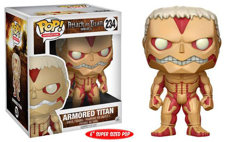 Funko Attack on Titan POP! Animation Armored Titan 6-Inch Vinyl Figure #234 [Super-Sized]