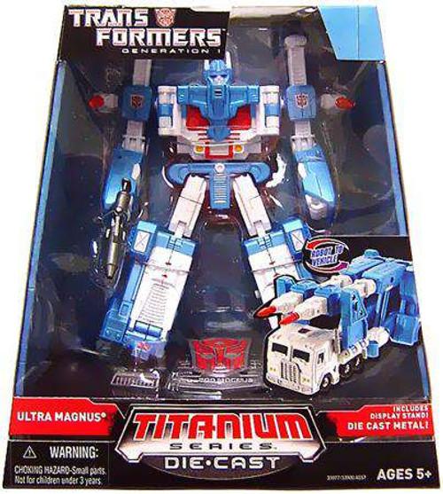 "Transformers Generation 1 TItanium Series Ultra Magnus 6-Inch 6"" Diecast Figure [Generation 1, Damaged Package]"