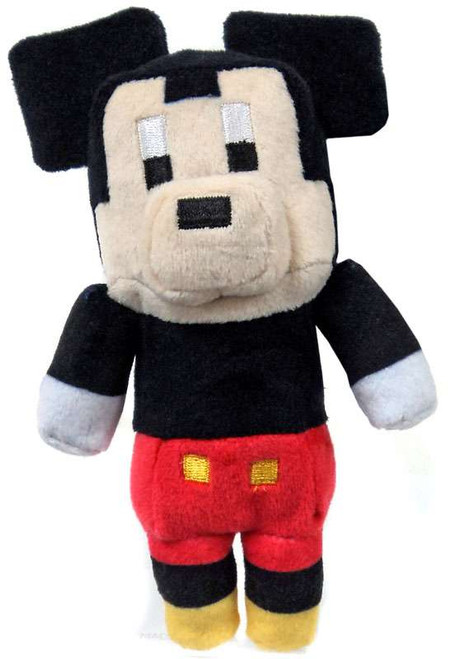 Crossy Road Disney Series 1 Mickey 6.5-Inch Plush