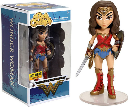Funko DC Rock Candy Wonder Woman Exclusive Vinyl Figure [Shield & Sword]
