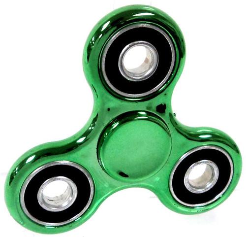 Hand Spinner Metallic Green Spinner
