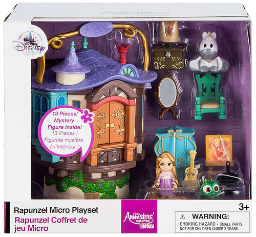 Disney Tangled Littles Animators' Collection Rapunzel Exclusive Micro Playset [2017]