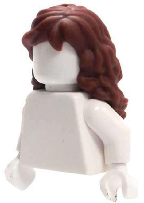 LEGO Long Reddish Brown Wavy Loose Hair [Loose]