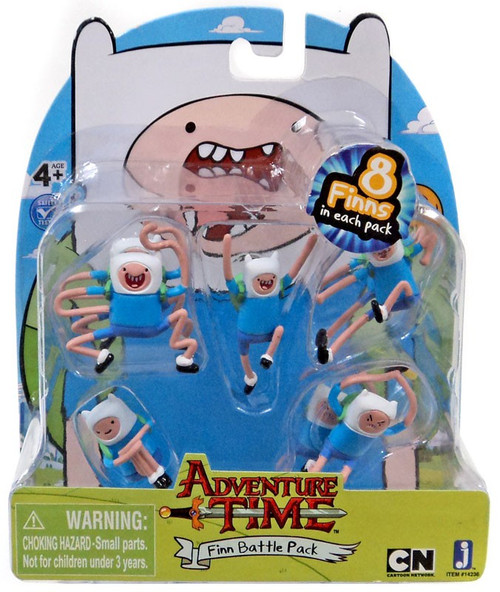 Adventure Time Finn Battle Pack 2-Inch Mini Figure Set