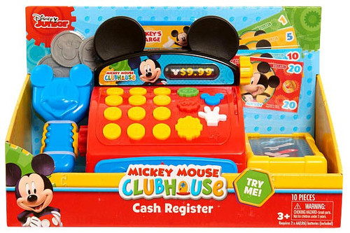 Fisher Price Disney Mickey Mouse Clubhouse Cash Register [Mickey Mouse Clubhouse]