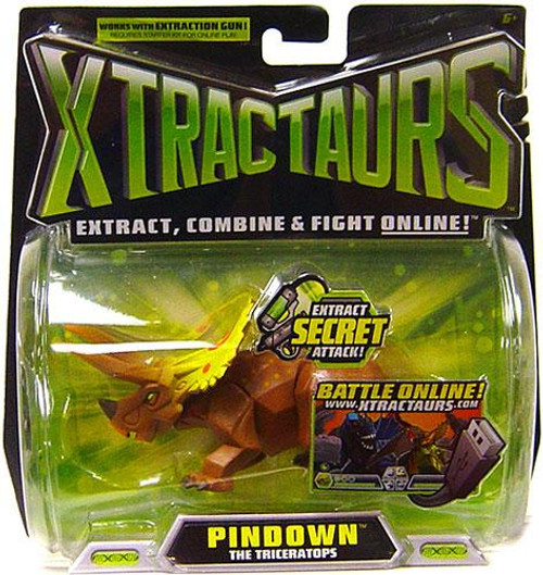 Xtractaurs Pindown The Triceratops Figure