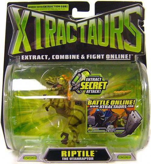 Xtractaurs Riptile The Utahraptor Figure