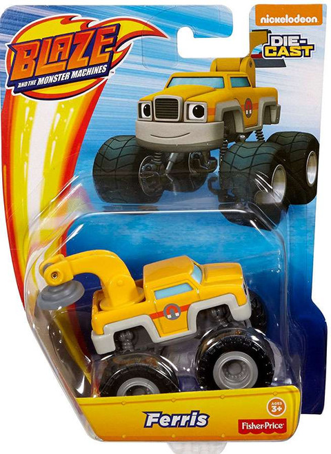 Fisher Price Blaze & the Monster Machines Nickelodeon Ferris Diecast Car