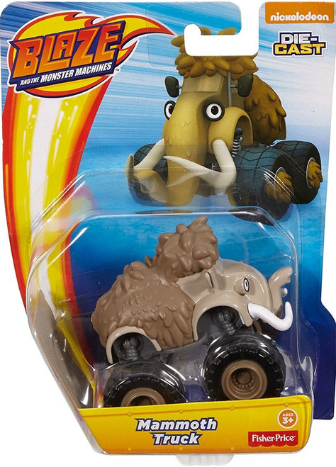 Fisher Price Blaze & the Monster Machines Nickelodeon Mammoth Truck Diecast Car