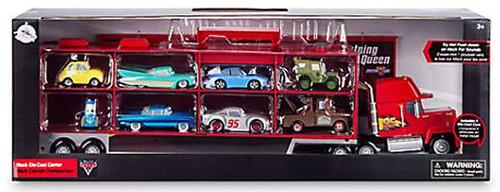 Disney / Pixar Cars Cars 3 Mack 8-Car Carrier Exclusive Diecast Car Set
