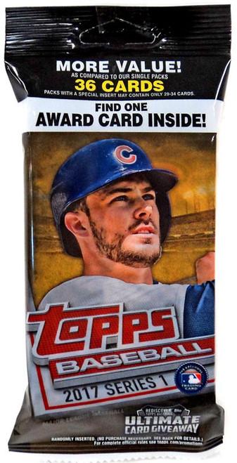 MLB Topps 2017 Series 1 Baseball Trading Card VALUE Pack [36 Cards]