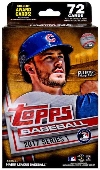 MLB Topps 2017 Series 1 Baseball Trading Card HANGER Box [72 Cards]