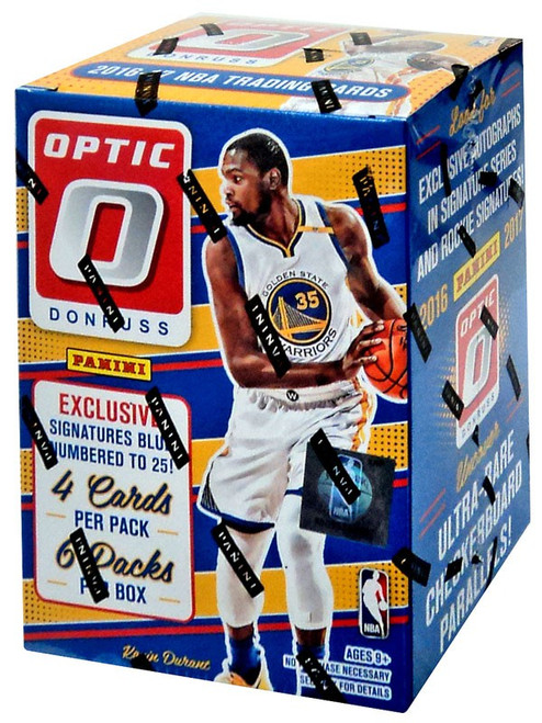 NBA Panini 2016-17 Donruss Optic Basketball Trading Card BLASTER Box [6 Packs]