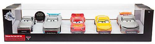Disney / Pixar Cars Cars 3 Lightning McQueen, Sterling, 2x Rookie Racers & Cruz Ramirez Exclusive Deluxe Die-Cast Car 5-Pack Set [Next Gen]