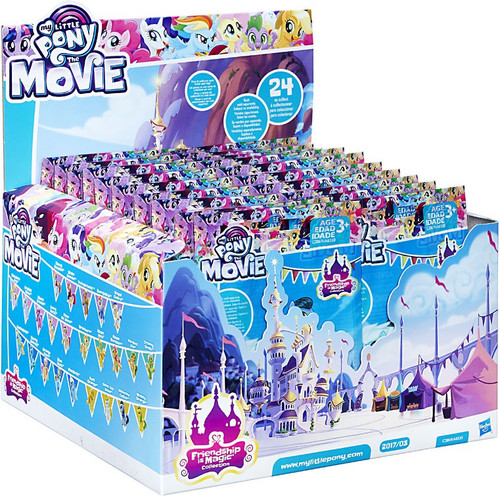 My Little Pony The Movie 2017 Wave 3 (Series 21) Mystery Box [24 Packs]