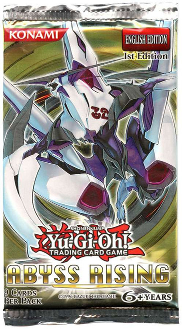 YuGiOh Trading Card Game Abyss Rising (1st Edition) Booster Pack