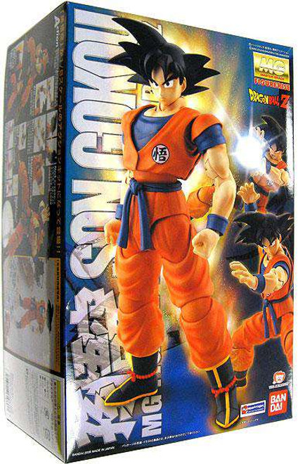 Dragon Ball Z Figure Rise Goku Master Grade Model Kit [Damaged Package]