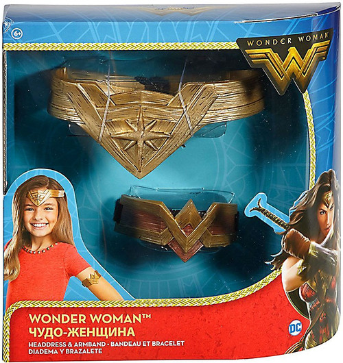 DC Wonder Woman Headdress & Armband Roleplay Toy