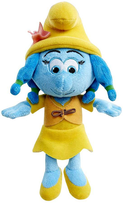 The Smurfs The Lost Village Smurflily 8-Inch Bean Bag Plush [with Vest]