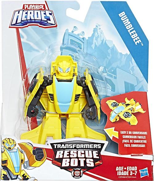 Transformers Playskool Heroes Rescue Bots Bumblebee Action Figure [Rescan]