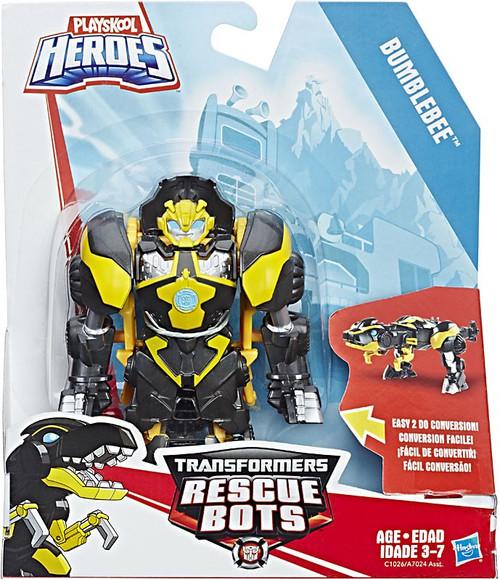Transformers Playskool Heroes Rescue Bots Bumblebee (Night Raptor) Action Figure [Rescan]