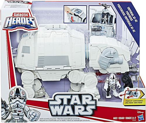 Star Wars The Force Awakens Galactic Heroes Imperial AT-AT Fortress Vehicle