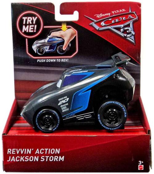 Disney / Pixar Cars Cars 3 Revvin' Action Jackson Storm Vehicle