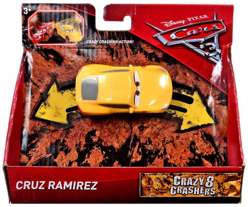 Disney / Pixar Cars Cars 3 Crazy 8 Crashers Cruz Ramirez Vehicle