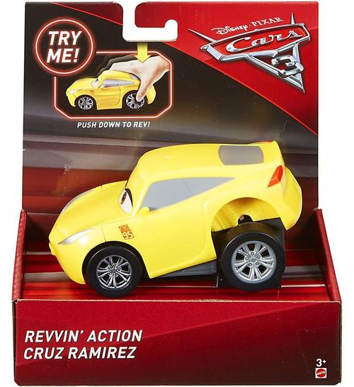 Disney / Pixar Cars Cars 3 Revvin' Action Cruz Ramirez Vehicle