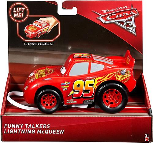 Disney / Pixar Cars Cars 3 Funny Talkers Lightning McQueen Vehicle