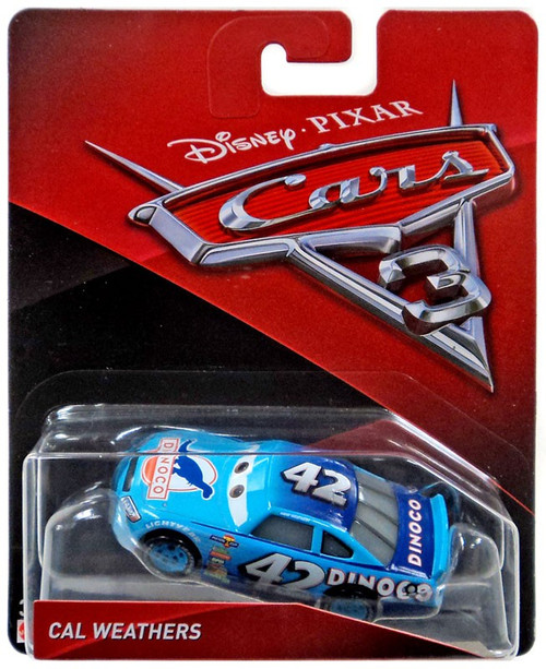 Disney / Pixar Cars Cars 3 Cal Weathers Diecast Car