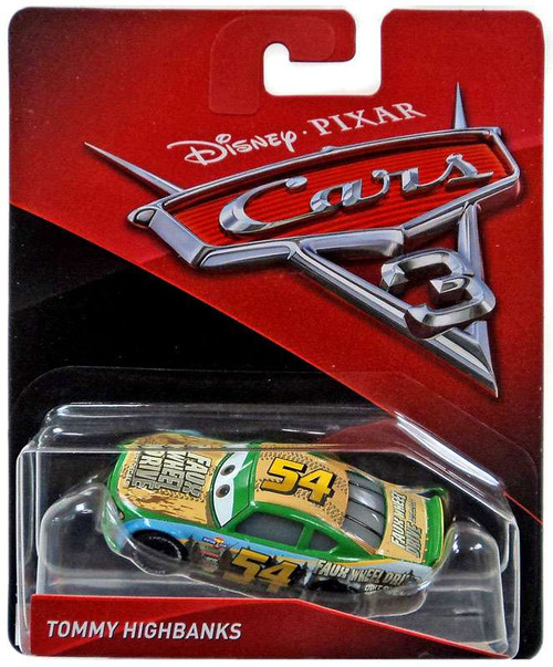 Disney / Pixar Cars Cars 3 Tommy Highbanks Diecast Car