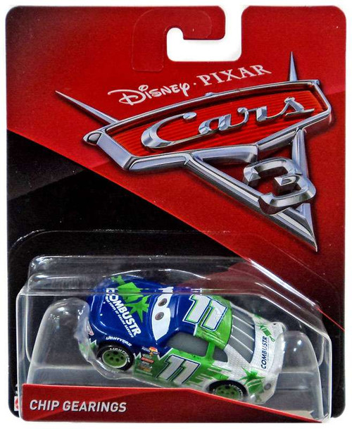 Disney / Pixar Cars Cars 3 Chip Gearings Diecast Car