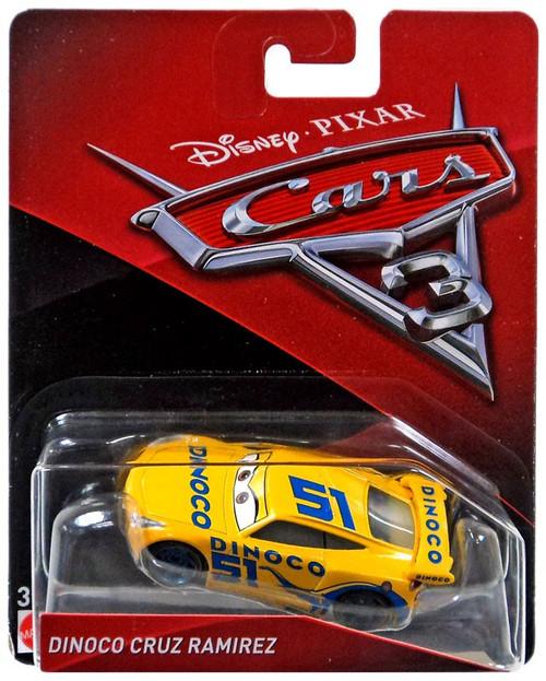 Disney / Pixar Cars Cars 3 Dinoco Cruz Ramirez Diecast Car