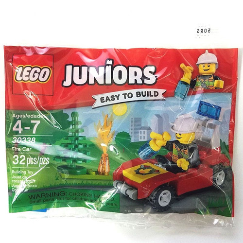 LEGO Juniors Fire car Set #30338 [Bagged]