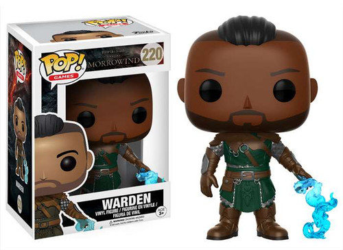 Funko The Elder Scrolls Morrowind POP! Games Warden Vinyl Figure #220