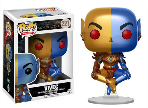 Funko The Elder Scrolls Morrowind POP! Games Vivec Vinyl Figure #221