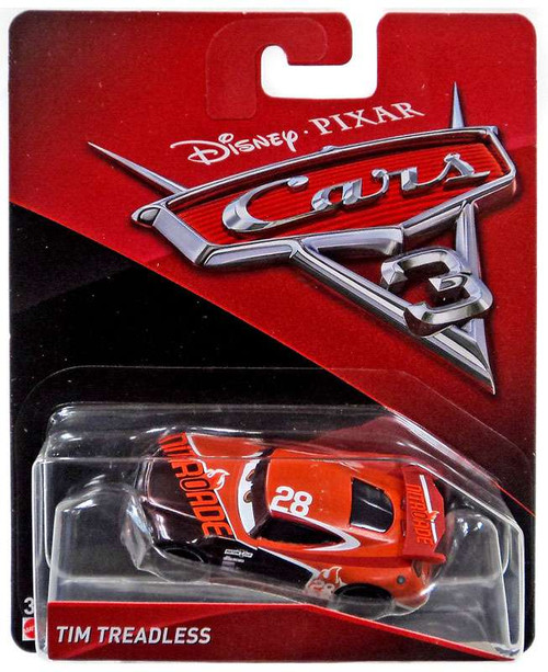 Disney / Pixar Cars Cars 3 Tim Treadless Diecast Car