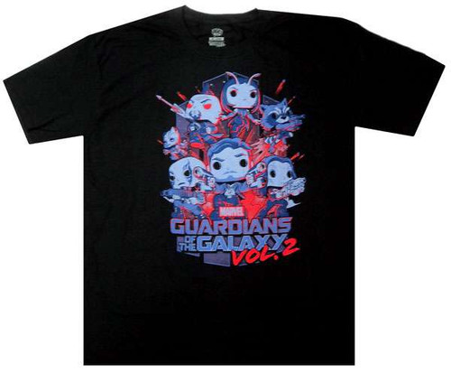 Funko Marvel Collector Corps Guardians of the Galaxy Vol. 2 Exclusive T-Shirt [2X-Large]