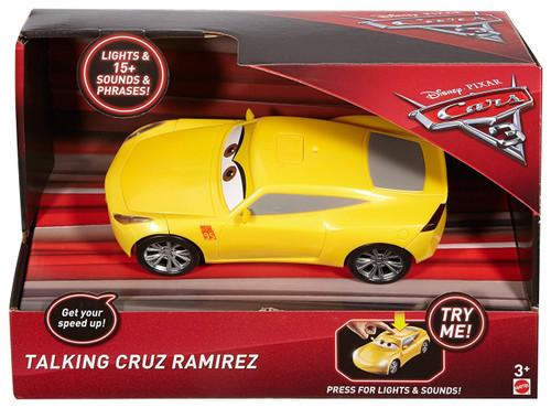 Disney / Pixar Cars Cars 3 Cruz Ramirez Talking Vehicle [Lights & Sounds!]
