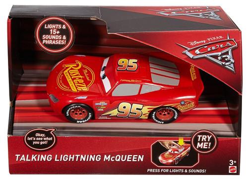 Disney / Pixar Cars Cars 3 Lightning McQueen Talking Vehicle [Lights & Sounds!]