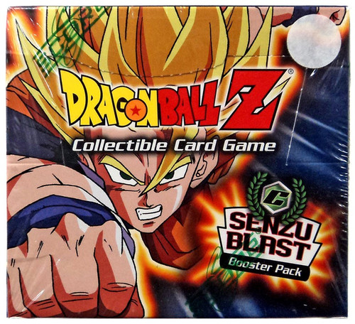 Dragon Ball Z Collectible Card Game Cell Games Senzu Blast Booster Box [60 Packs]