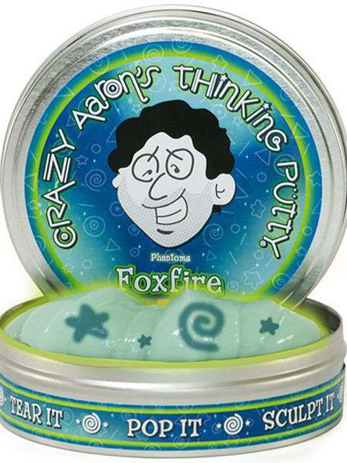 Crazy Aaron's Thinking Putty Phantoms Fox Fire 4-Inch
