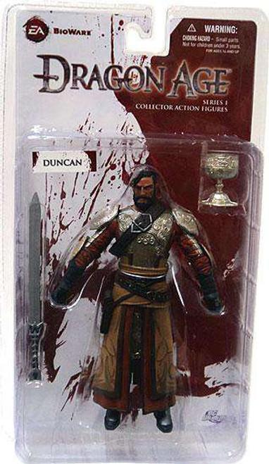 Dragon Age Origins Duncan Action Figure [Damaged Package]