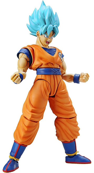 Dragon Ball Figure-Rise Standard Super Saiyan Blue Son Goku 7-Inch Model Kit Figure