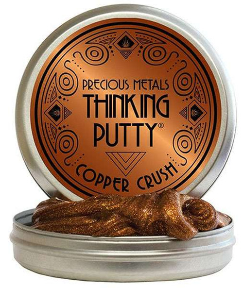 Crazy Aaron's Thinking Putty Precious Copper Crush 3-Inch