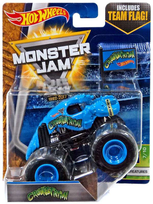 Hot Wheels Monster Jam 25 Crushstation Die-Cast Car #7/10 [Creatures]