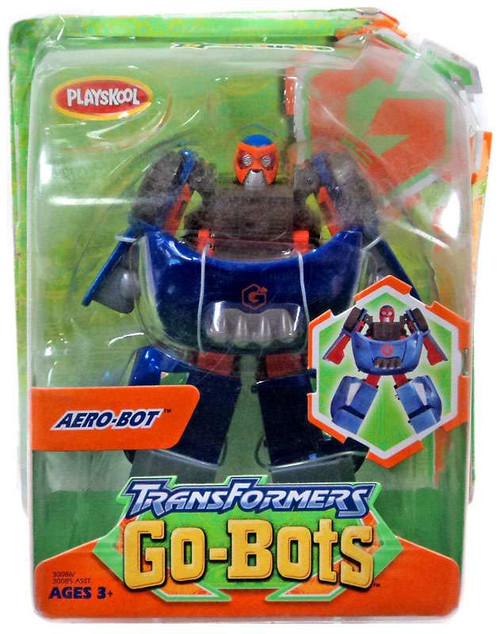 Transformers Go-Bots Aero-Bot Action Figure [Damaged Package]
