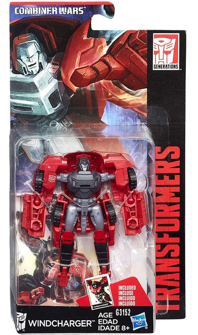 Transformers Generations Combiner Wars Windcharger Legend Action Figure [Damaged Package]
